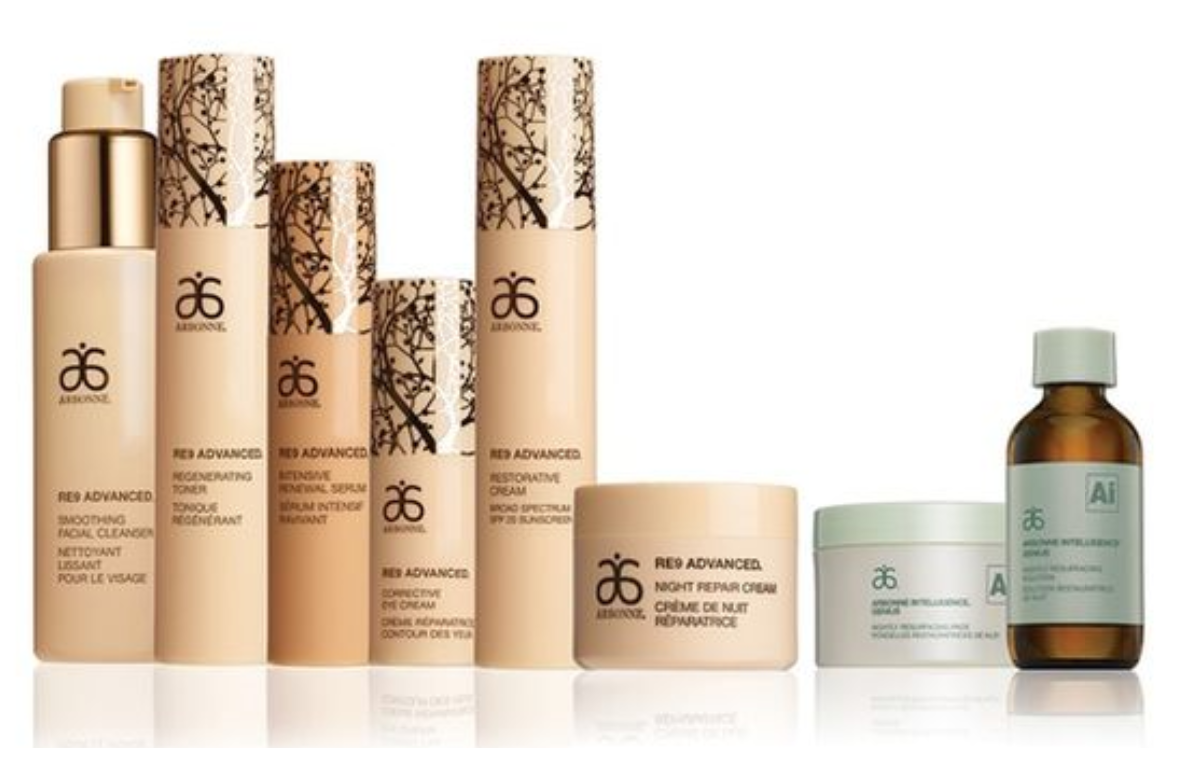 Arbonne Skin Care Collections - Arbonne RE9 Advanced & Arbonne Intelligence