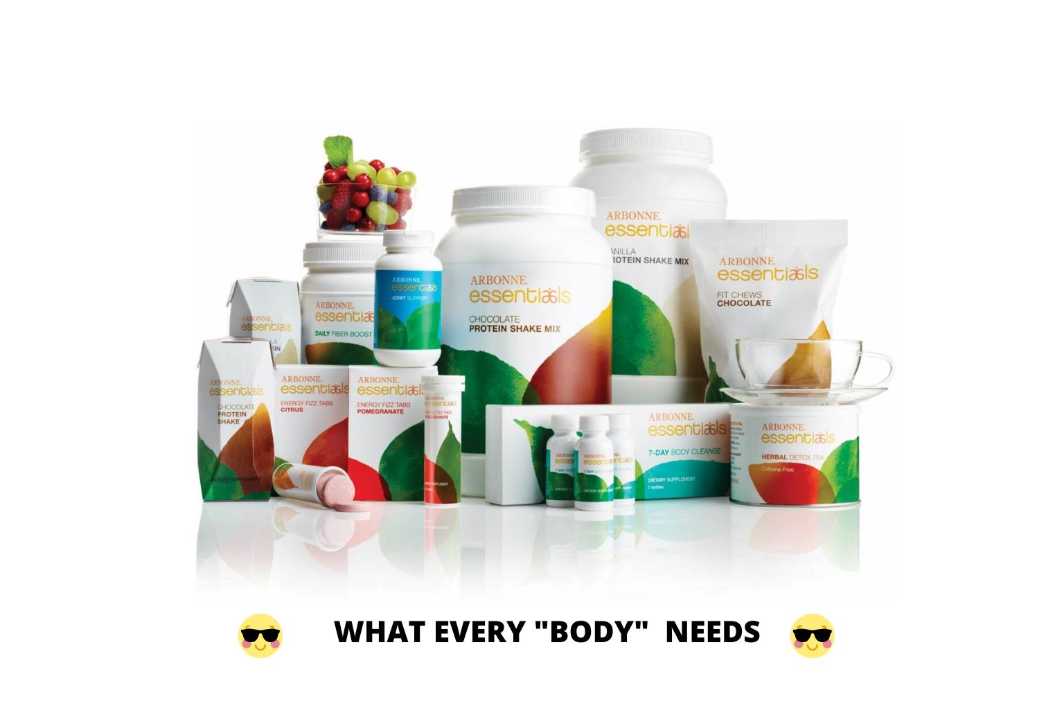Best Arbonne Nutrition Products