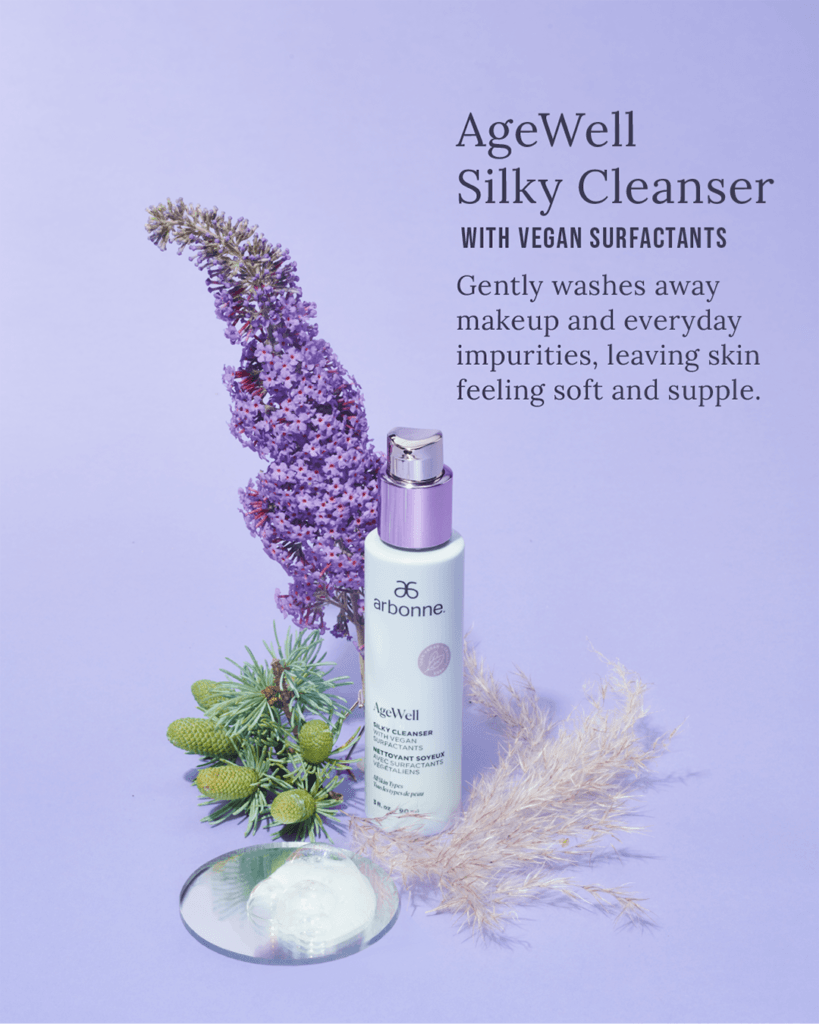 Arbonne AgeWell Silky Cleanser